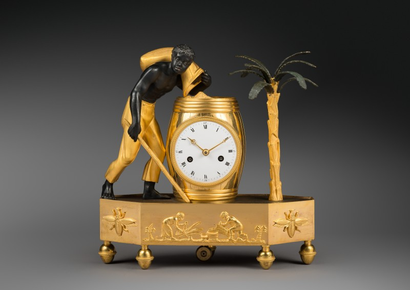 An Empire 'The coffee Bearer' attributed to Jean-Simon Deverberie, Paris, date circa 1800