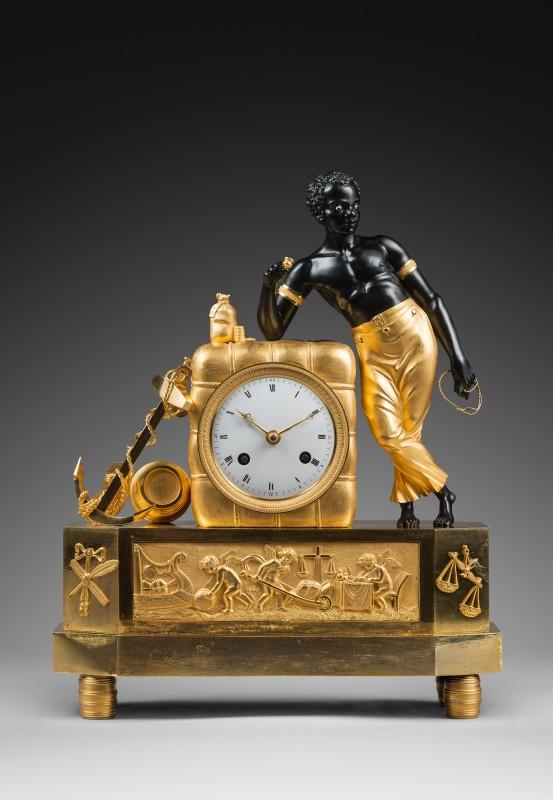 "An Empire clock ""The Sailor"" attributed to Jean-Simon Deverberie, Paris, date circa 1805-10"