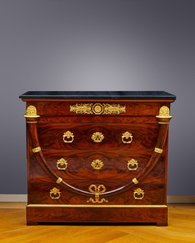 An Empire commode attributed to Jacob-Desmalter et Cie, Paris, date circa 1805