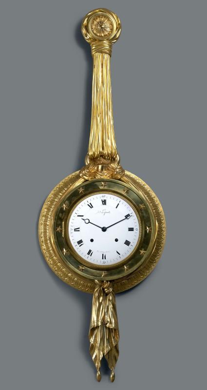 A Directoire cartel clock du Congrès by Jean-Joseph Lepaute , Paris, date circa 1795