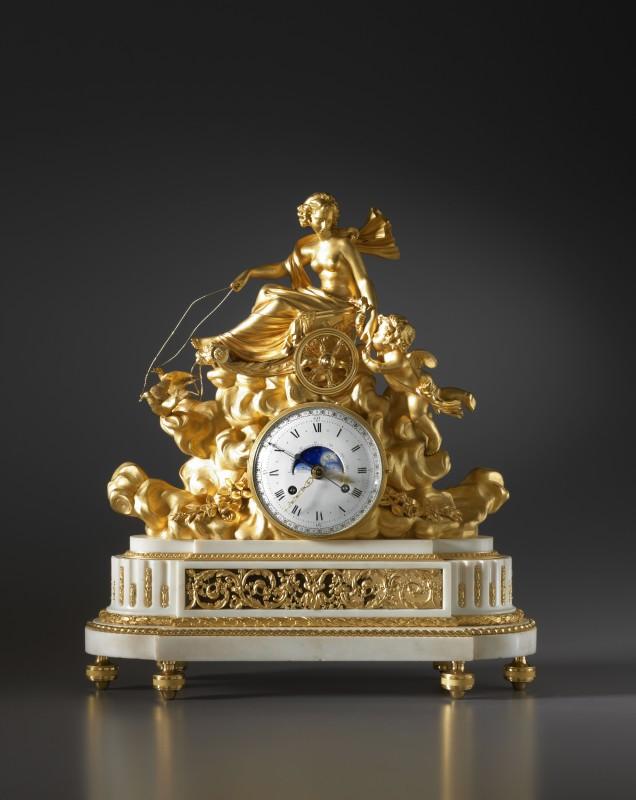A Louis XVI mantel clock with an astronomical movement, by Georges-Adrien Merlet, Paris, date circa 1780