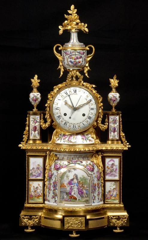 A Louis XVI mantel clock, the dial by Joseph Coteau, Paris, date circa 1785