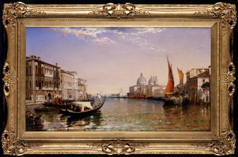 """""""The Grand Canal, Venice"""" by Arthur Joseph Meadows, 1897"""