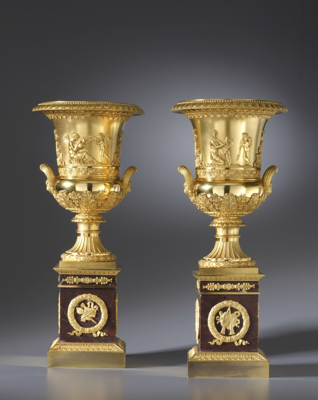 A pair of Empire vases by Pierre-Philippe Thomire , Paris, date circa 1810