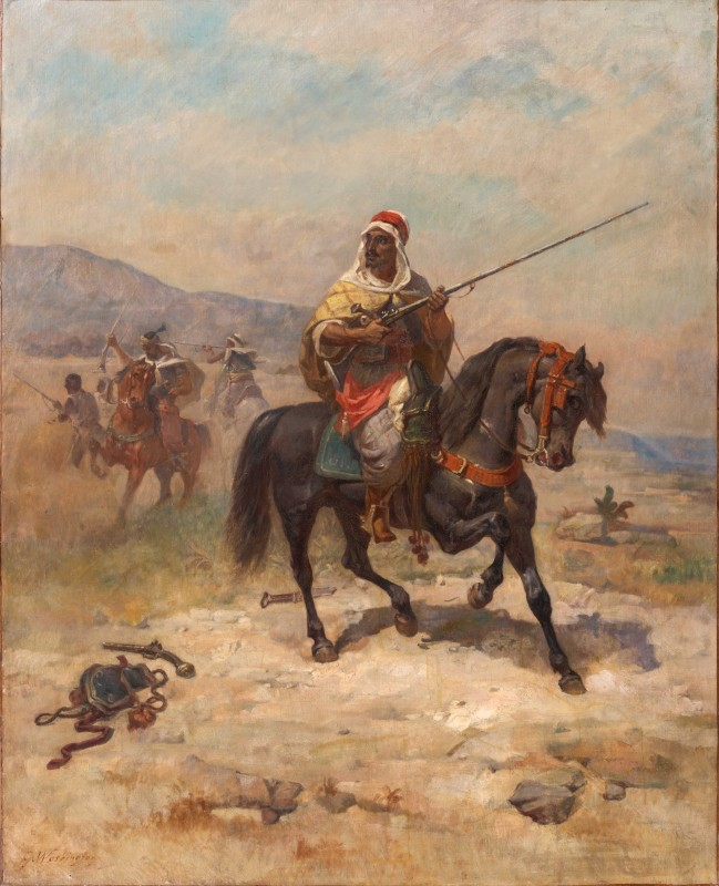 """The Moroccan Warrior"" by Georges Washington"