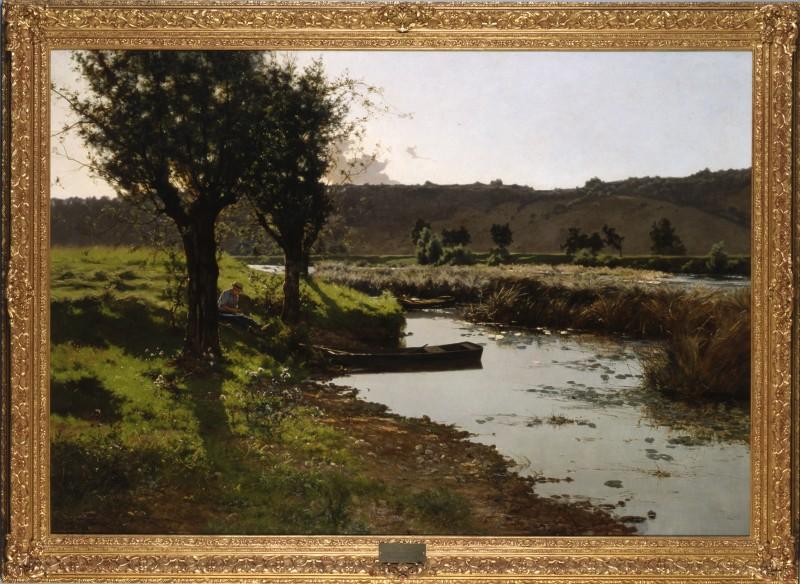 """A Summer's Day"" by Léon Boudot, 1888"