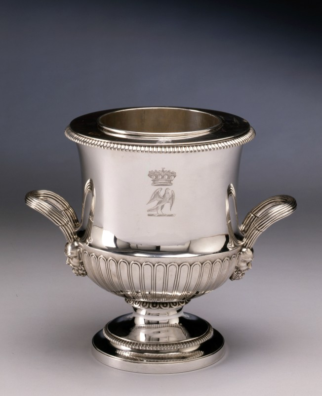A Regency wine cooler by William Frisbee, London, dated 1805
