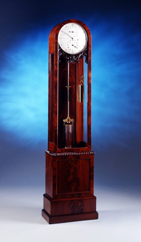 A long case regulator by E. Dent and Co. Ltd, London, date circa 1860