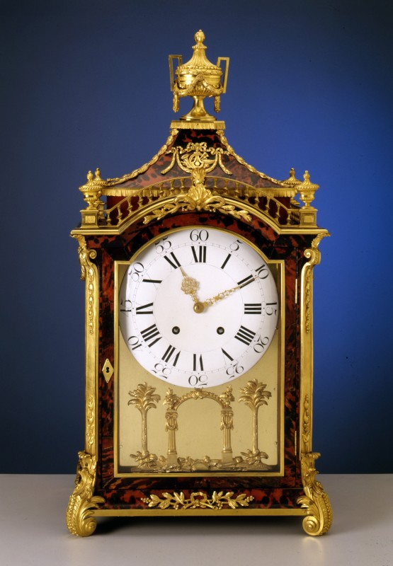 A Swiss musical pipe organ clock attributed to Pierre Jacquet Droz, Switzerland, date circa 1780