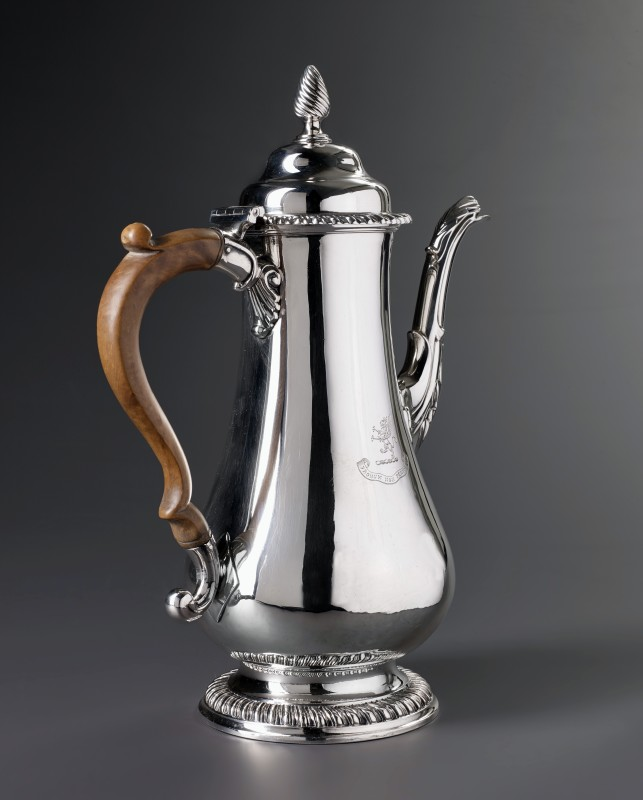 A George III coffee-pot by William Tuite, London, 1772