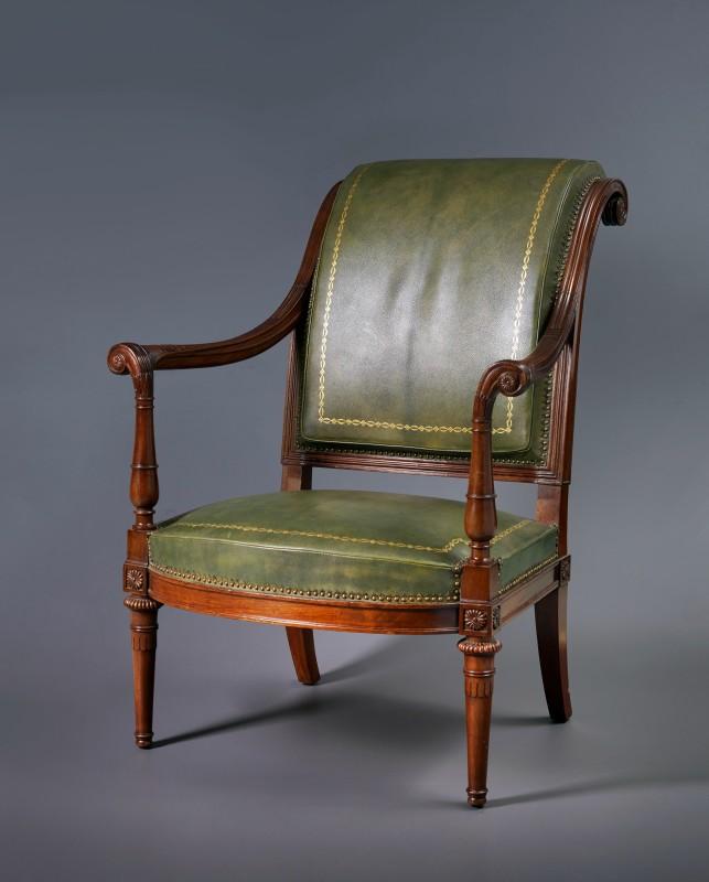 A Louis XVI fauteuil, Paris, date circa 1785-90