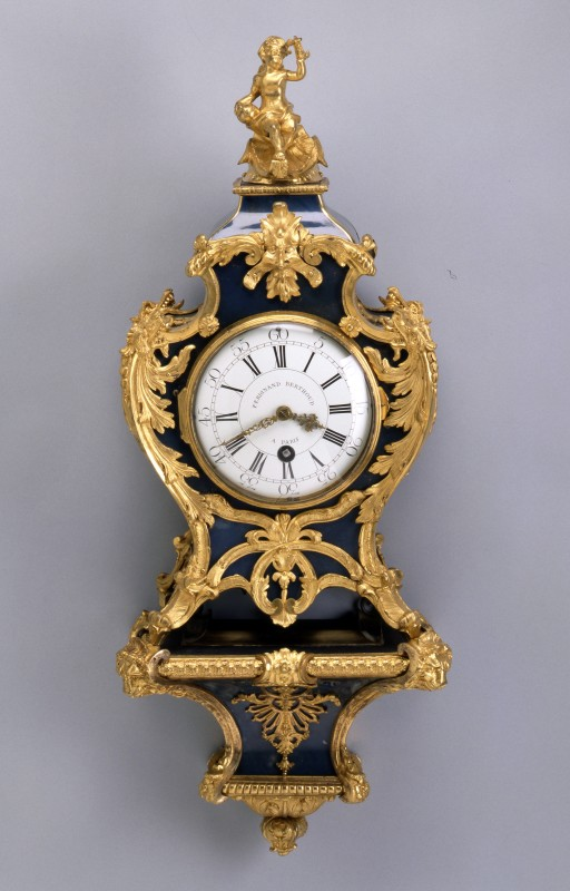 A Louis XV bracket clock of eight day duration, by Ferdinand Berthoud, Paris, date circa 1750