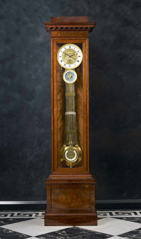A Restauration astronomical longcase regulator by Claude-Armand Lory, Paris, dated 1823