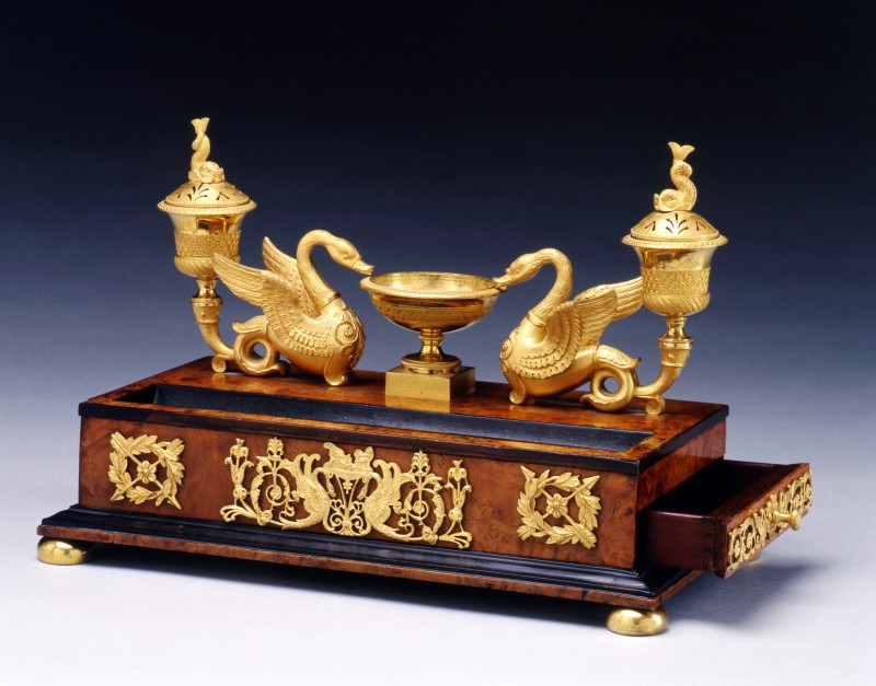 An Empire écritoire attributed to Martin-Guillaume Biennais, Paris, date circa 1810