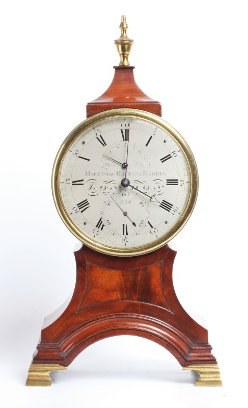 A eight day table chronometer by Harris, London, date circa 1830