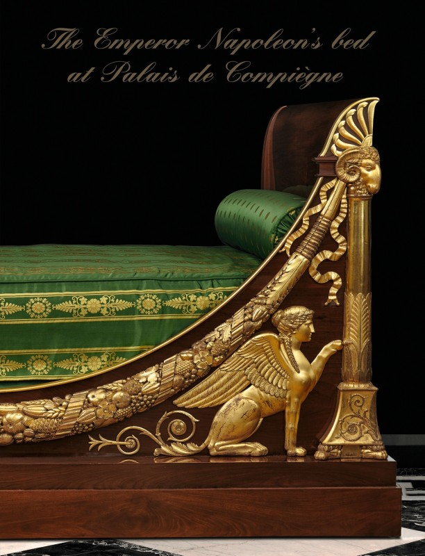 The Emperor Napoleon's bed at Palais de Compiègne, Limited Edition