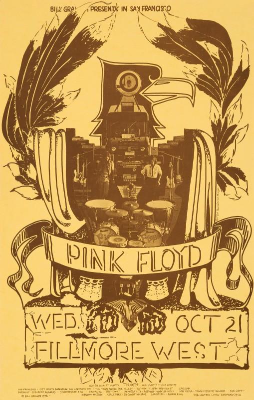 Pat Hanks, Pink Floyd, 1970