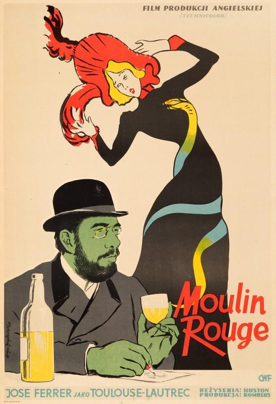 Lucjan Jagodzinski, Moulin Rouge, 1957