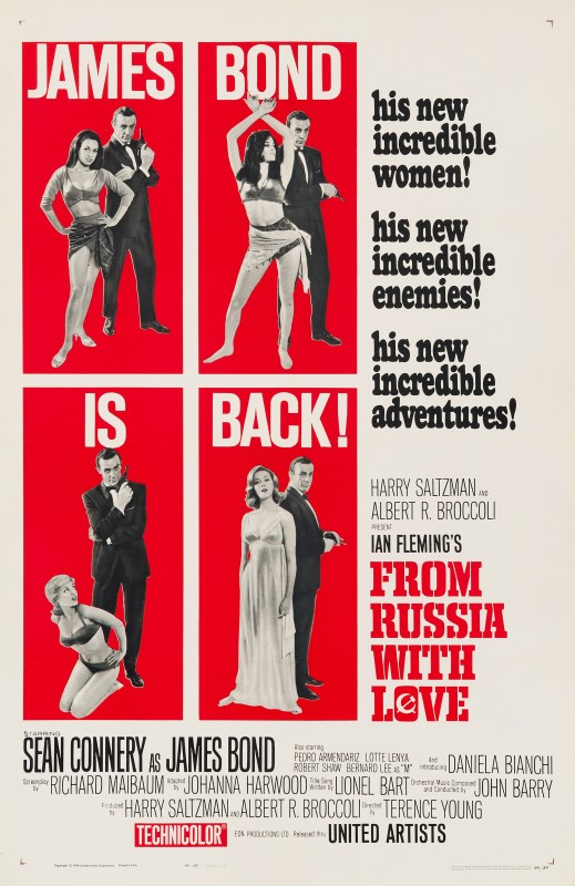 David Chasman, From Russia With Love, 1964