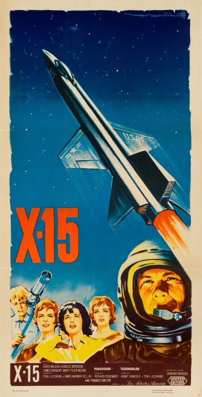 Roger Soubie, X-15, 1961