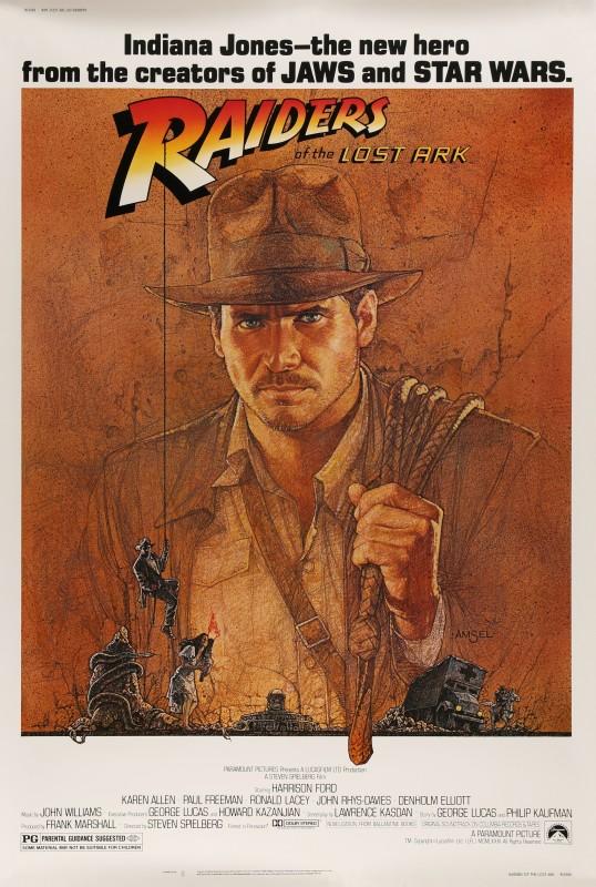 Richard Amsel, Raiders of the Lost Ark, 1981