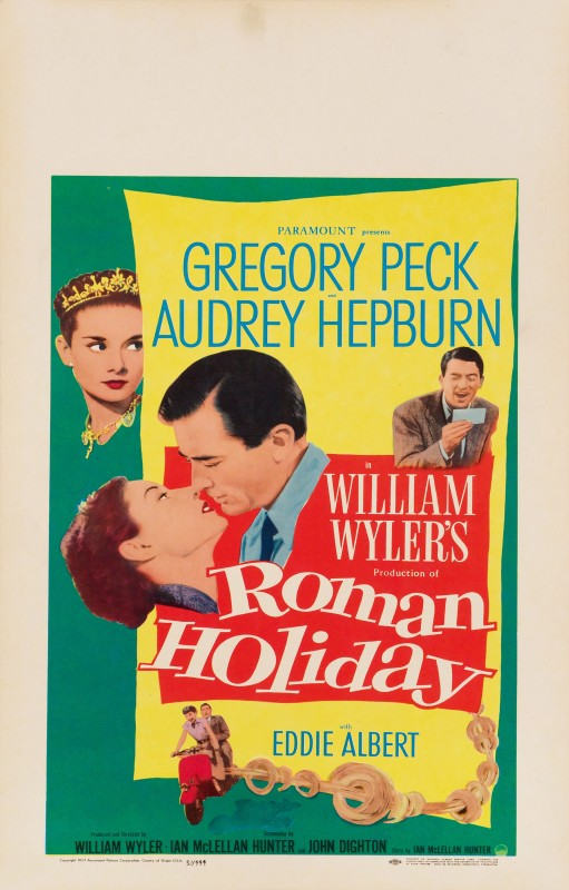 Roman Holiday, 1953