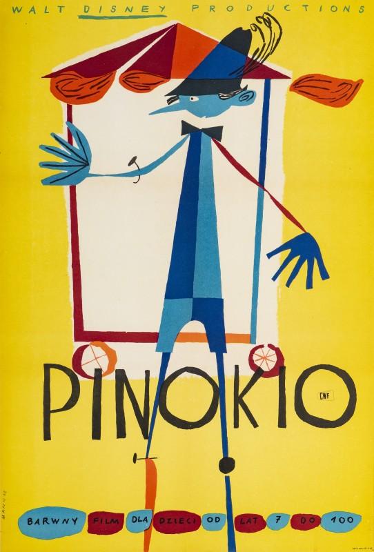 Kazimierz Mann, Pinocchio, 1962