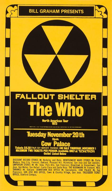 Randy Tuten, The Who, 1973
