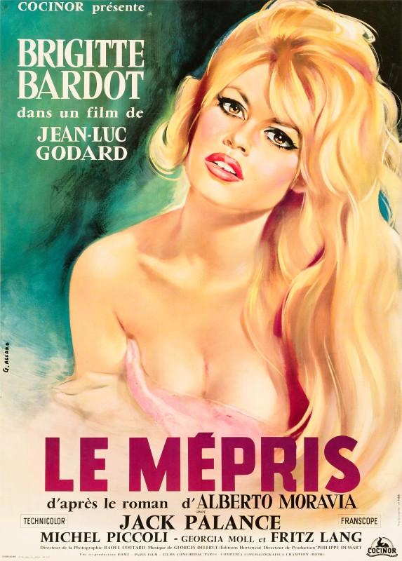Georges Allard, Le Mépris, 1963