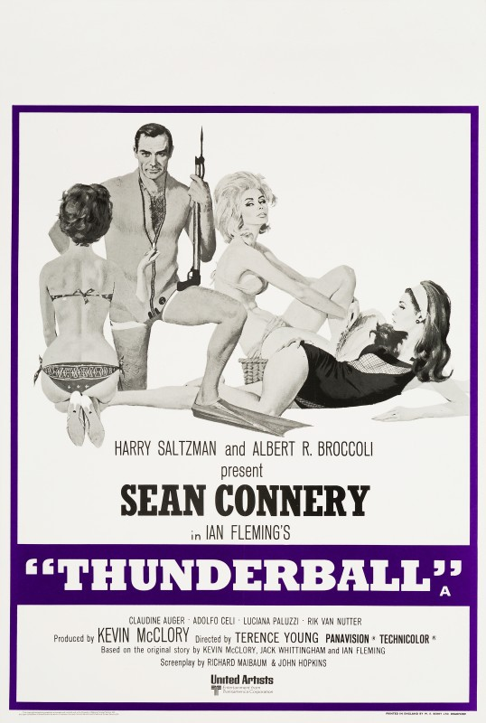 Robert McGinnis, Thunderball, 1973 Re-release
