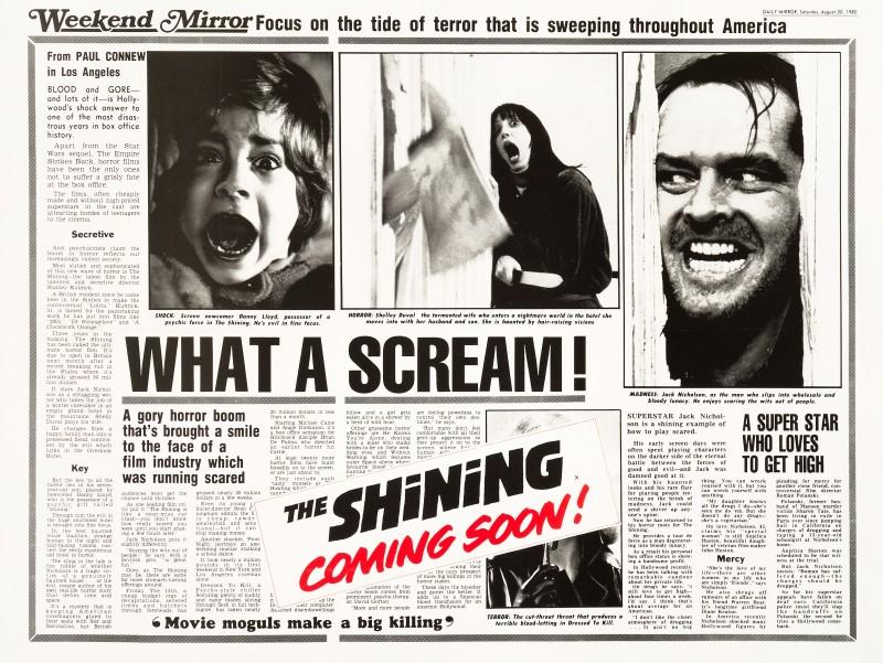 The Shining, 1980