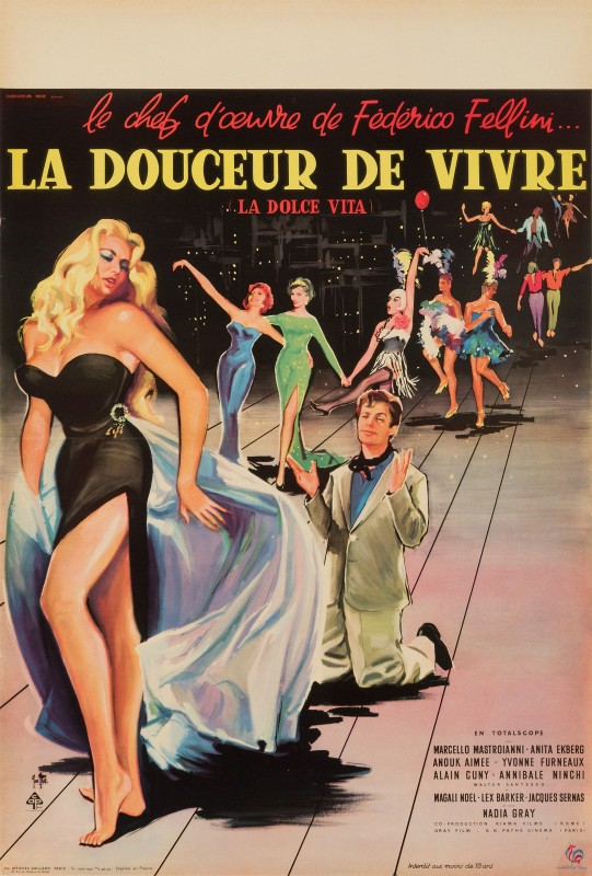Yves Thos, La Dolce Vita, 1960