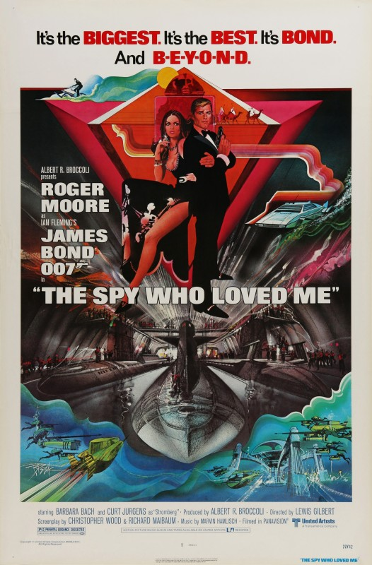 Bob Peak, The Spy Who Loved Me, 1977