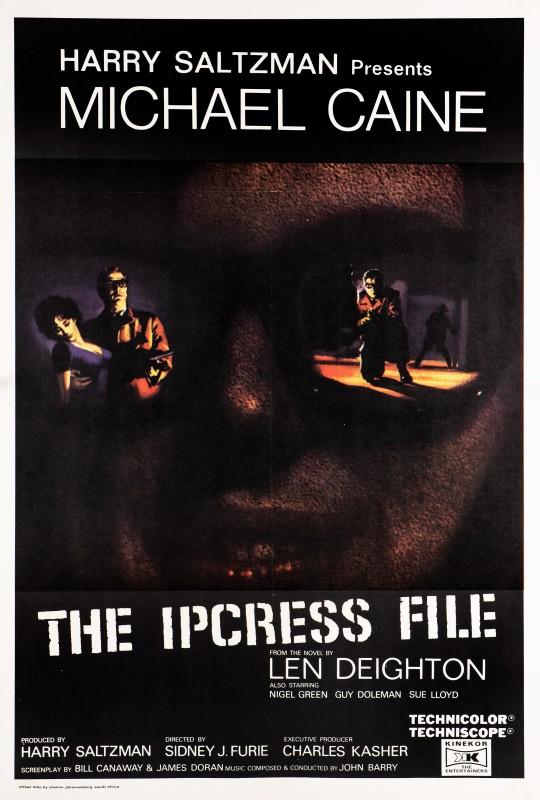 Angelo Cesselon, The Ipcress File, 1965
