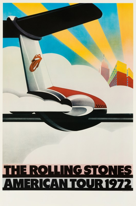 John Pasche, The Rolling Stones, 1972