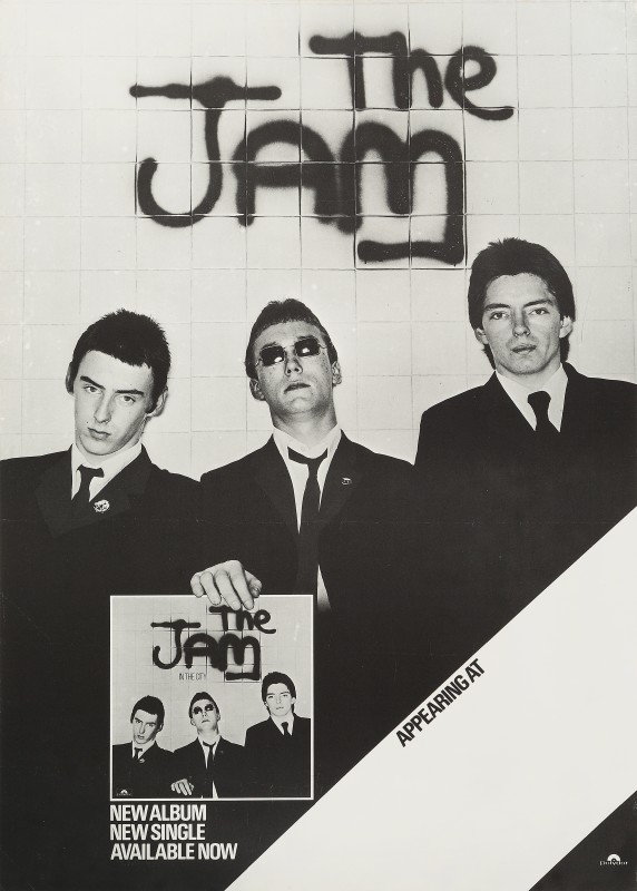 Bill Smith, The Jam, 1977