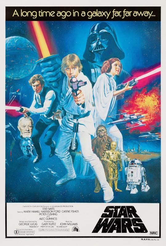 Tom William Chantrell, Star Wars, 1977