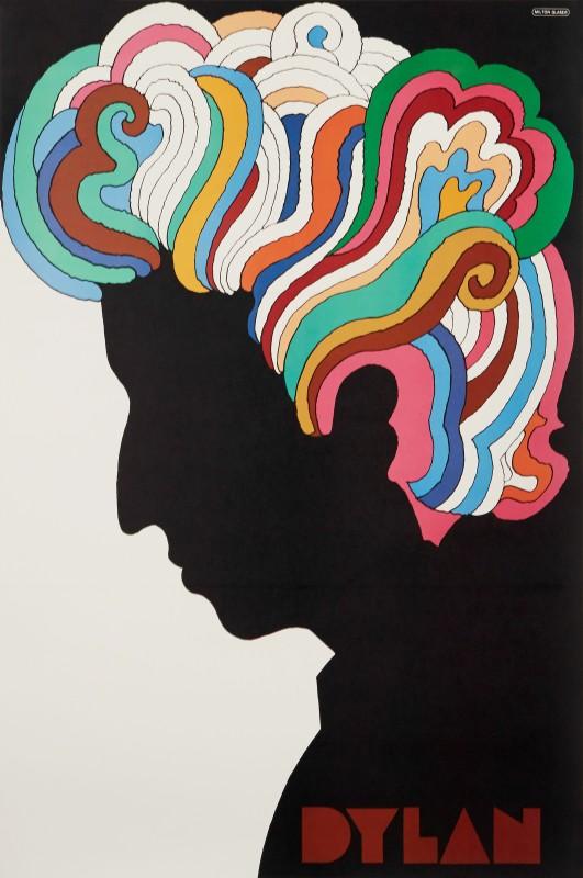 Milton Glaser, Bob Dylan, 1967