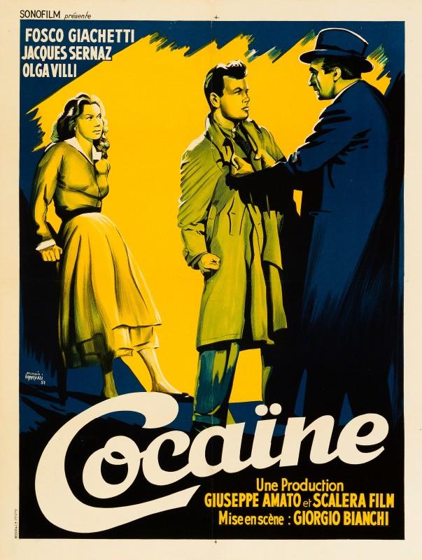 Duccio Marvasi, Cocaine: The Thrill That Kills, 1951