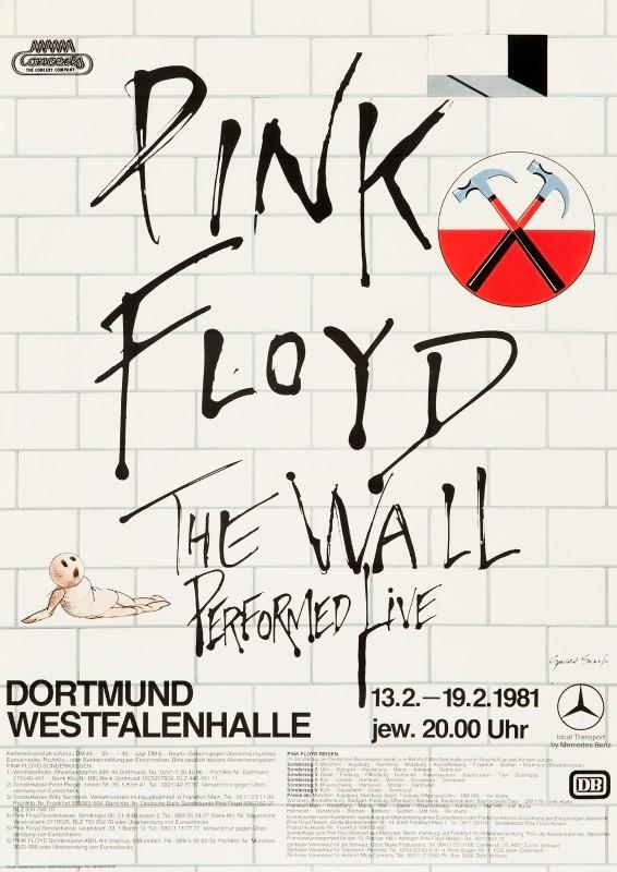 Gerald Scarfe, Pink Floyd, 1981