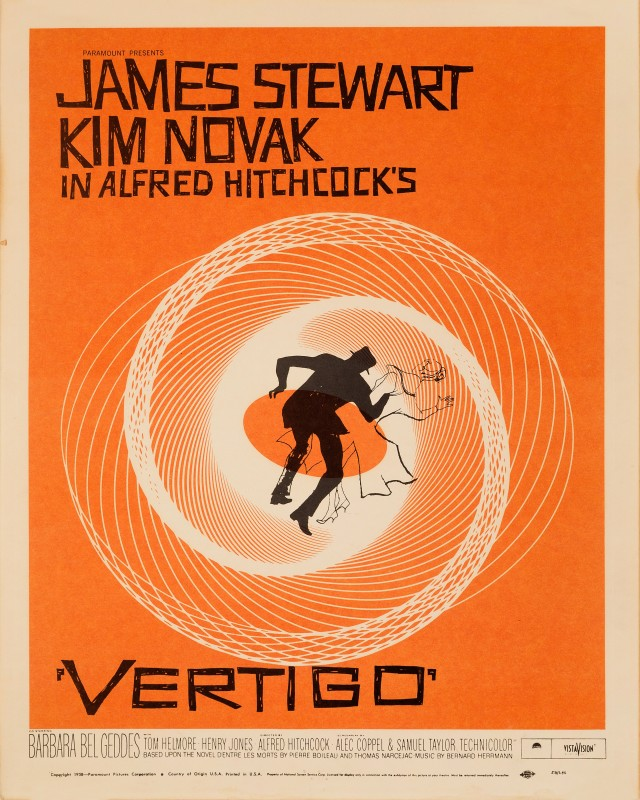 Saul Bass, Vertigo, 1958