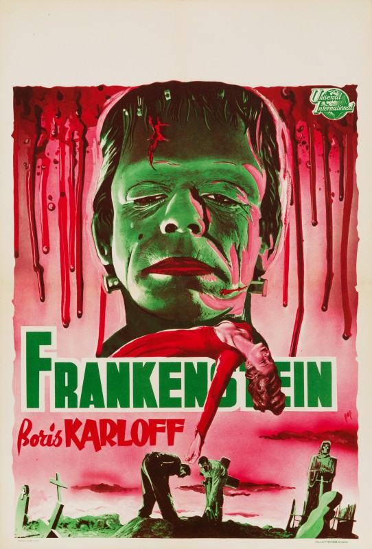 Bos, Frankenstein, 1950s Re-release