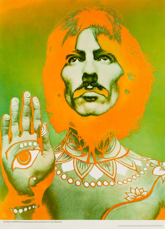 George Harrison, 1967 Richard Avedon US Commercial Poster 31 x 22½ in. (79 x 57 cm.) Unfolded, not backed Published by Cowles Education Corporation for Look Magazine, New York