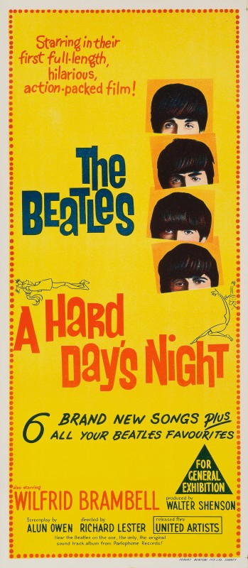 A Hard Day's Night, 1964
