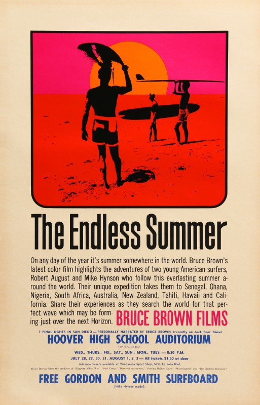 John Van Hamersveld, The Endless Summer, 1965