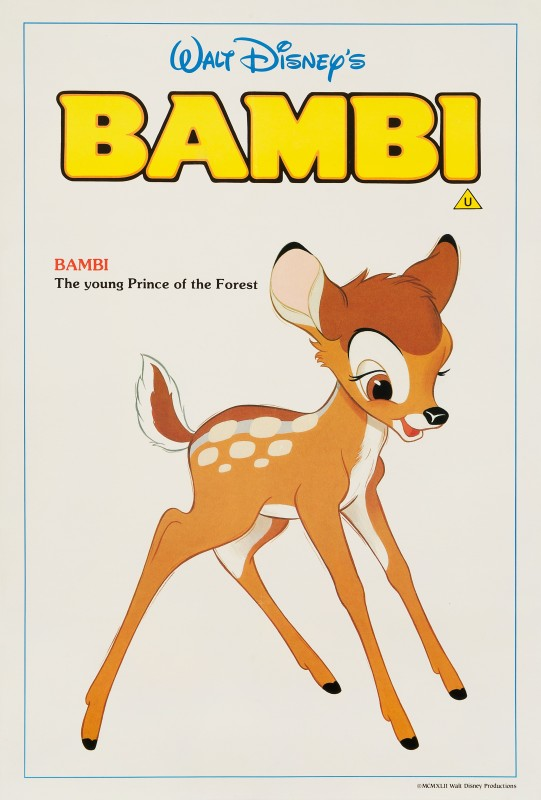 Bambi, 1980s Re-release