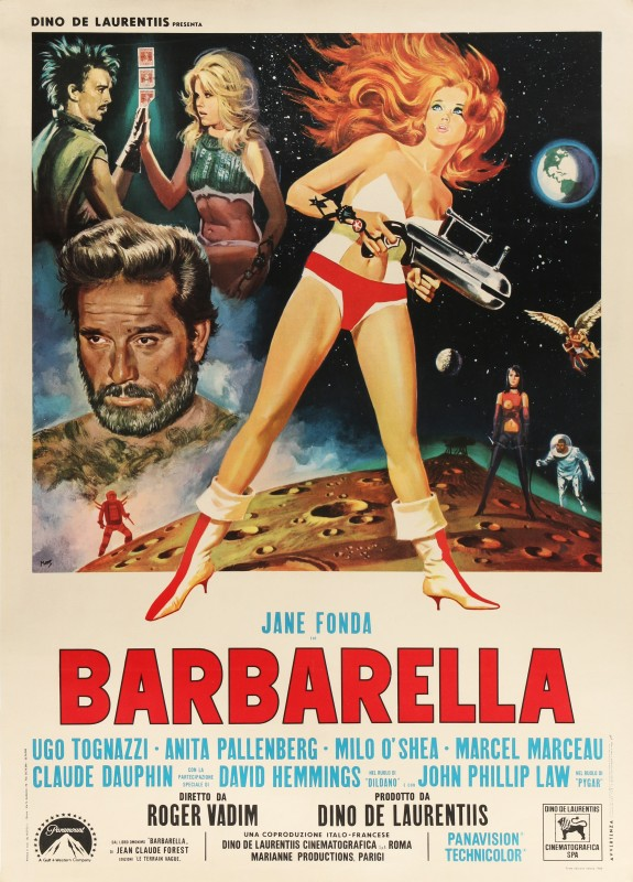 Mario De Berardinis, Barbarella, 1968