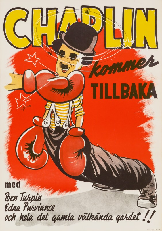 Bjorne, The Champion, 1944 Re-release