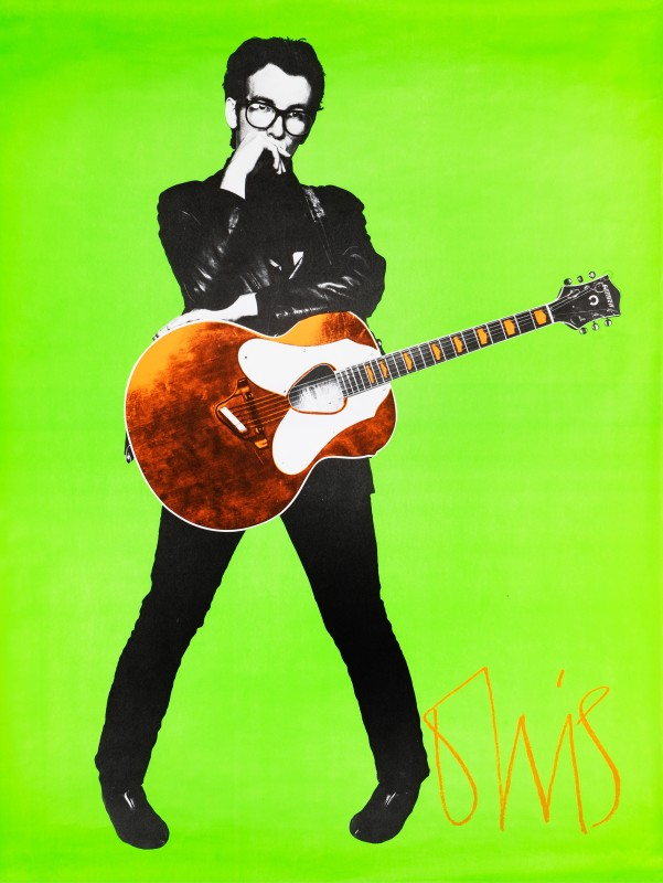 Barney Bubbles, Elvis Costello, 1978