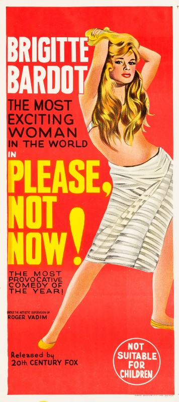 Please, Not Now!, 1963